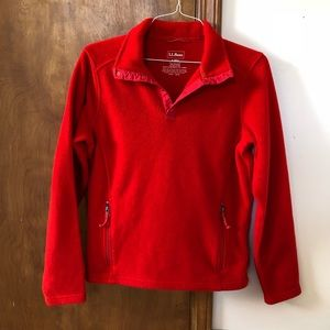 L.L. Bean Men's Fleece Pullover